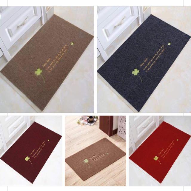 Maroon Doormat