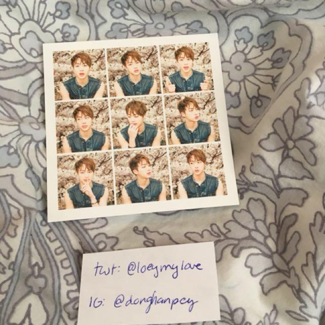 BTS hyyh pt. 1 Jin photocard