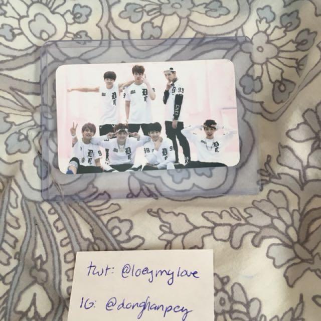 BTS O!RUL8,2? Group photocard