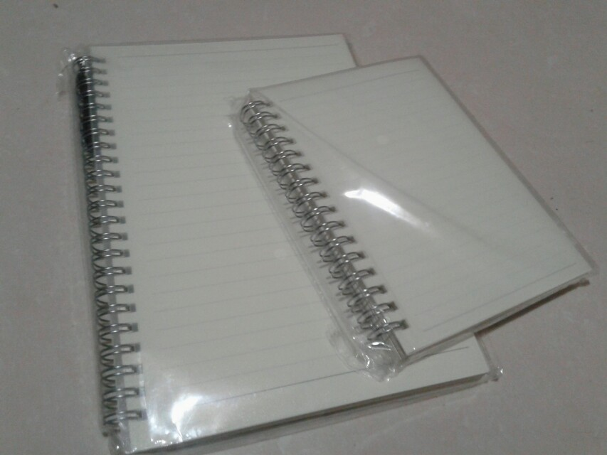 BUNDLE OF 2 MUJI STYLE NOTEBOOKS(LINED) WITH ROPE, Design & Craft ...