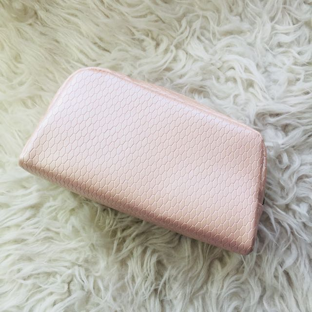 Bvlgari Make Up Pouch in Nude Pink