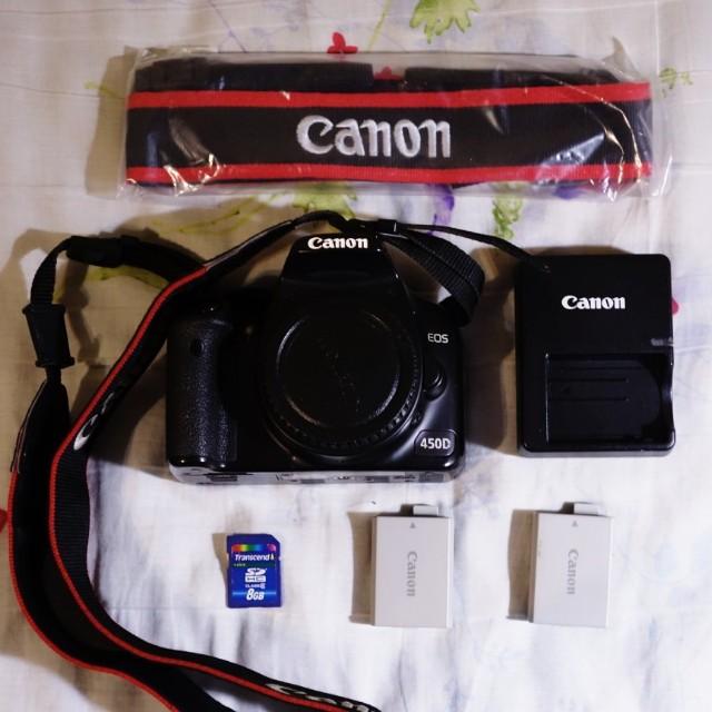 Canon EOS 450D & 2組鏡頭