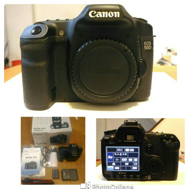 Canon EOS 50D (單機身)