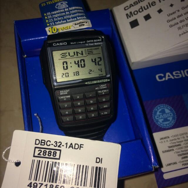 CASIO DBC-32 Original