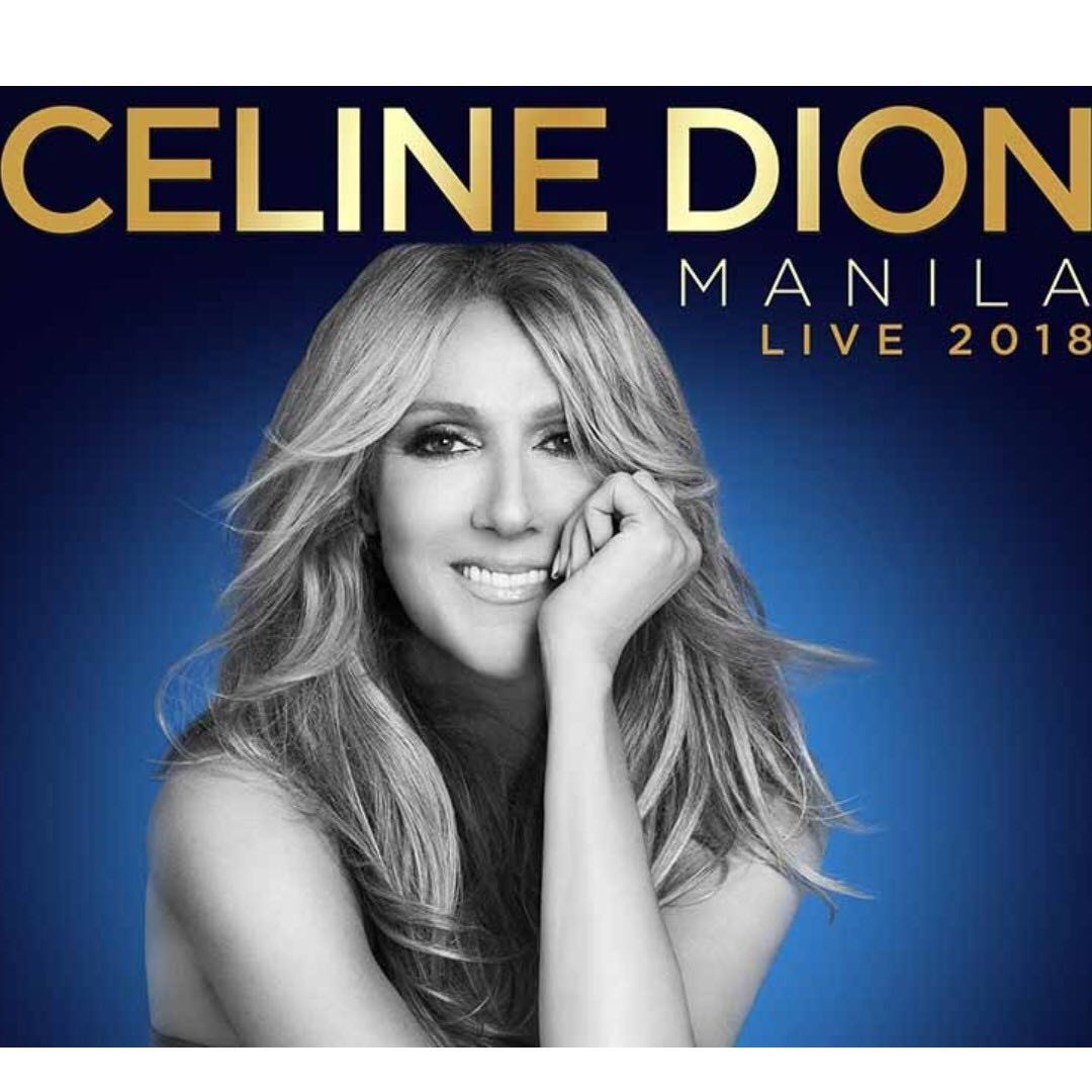 Celine Dion Concert Ticket