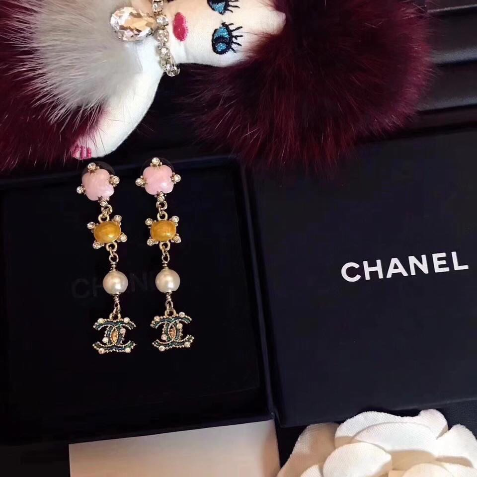 Chanel drop off earrings (authentic)