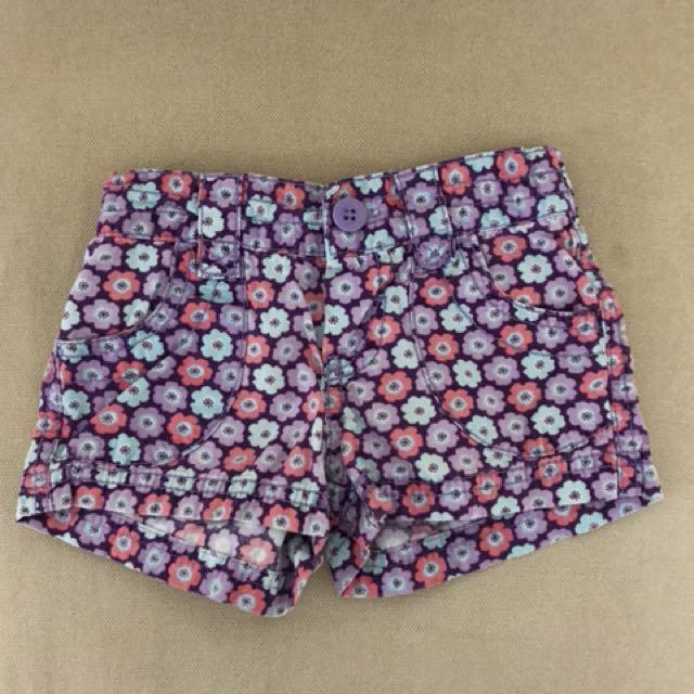 Circo Floral shorts 2T