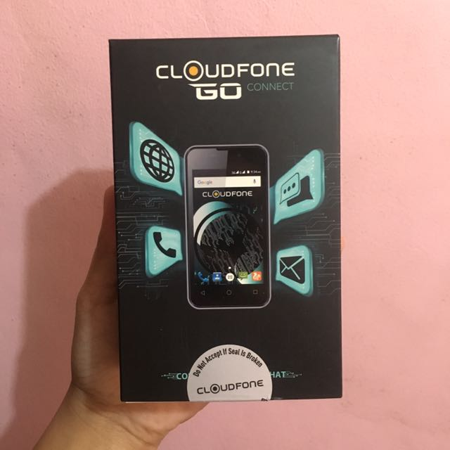 Cloudfone Go Connect (Gray)