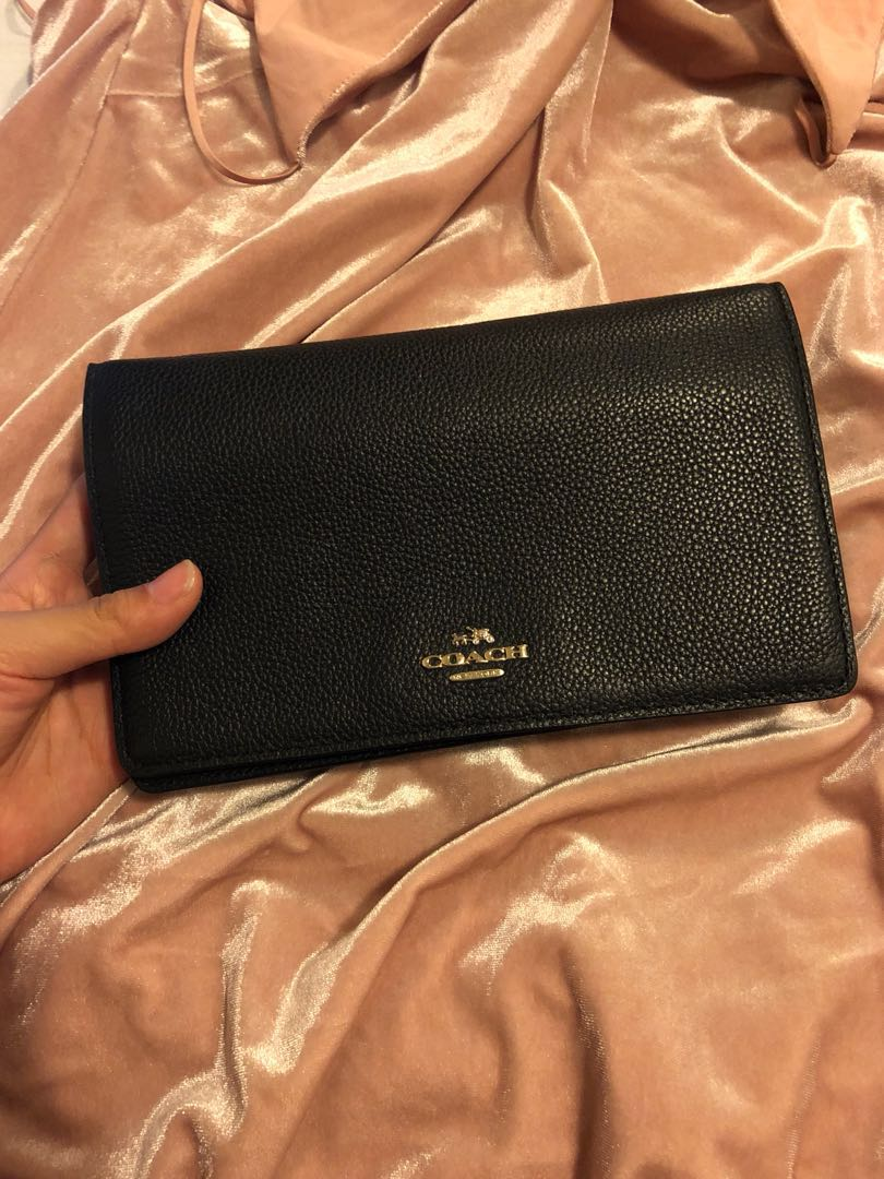 Coach WOC with Removable Strap