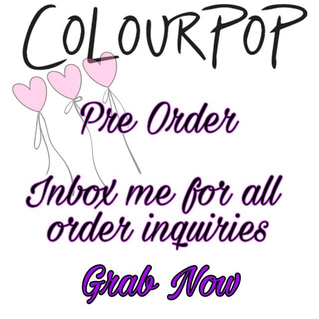 ColourPop Pre Order