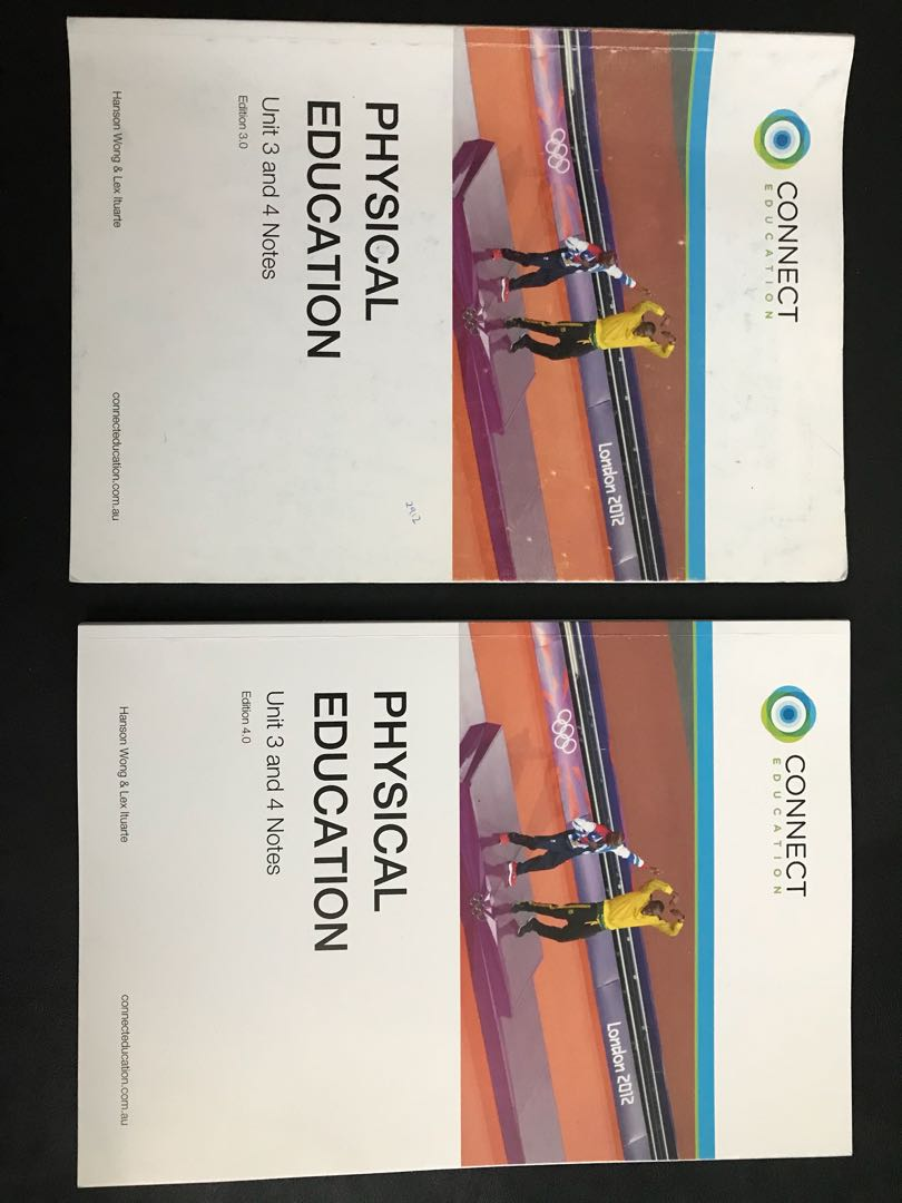 Connect Education VCE Units 3&4 Physical Education Notes