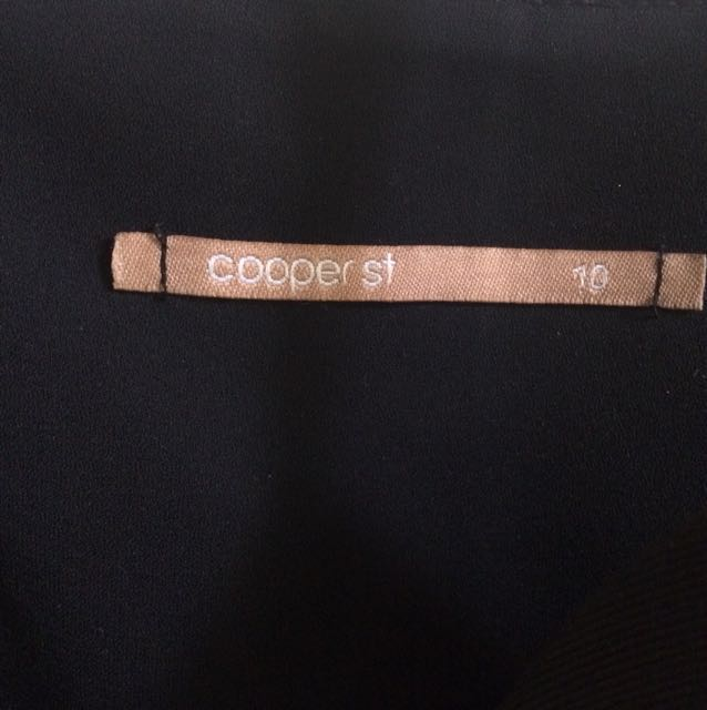 Cooper St Black Bodice Mini Dress