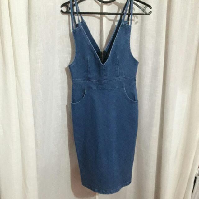 Denim Dress (Unbranded)