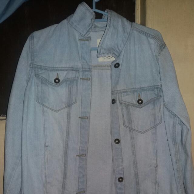 Denim Jacket Small Fit To Medium