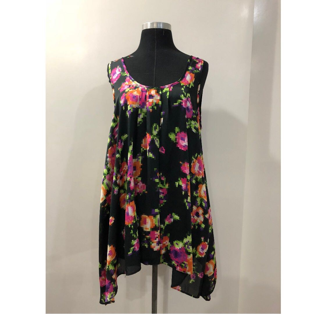 photo photo ...  sc 1 st  carousell ph & Dorothy Perkins - Floral Tent Blouse Preloved Womenu0027s Fashion ...