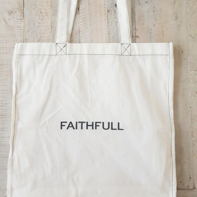 FAITHFULL THE BRAND Cotton Shopper Tote Bag