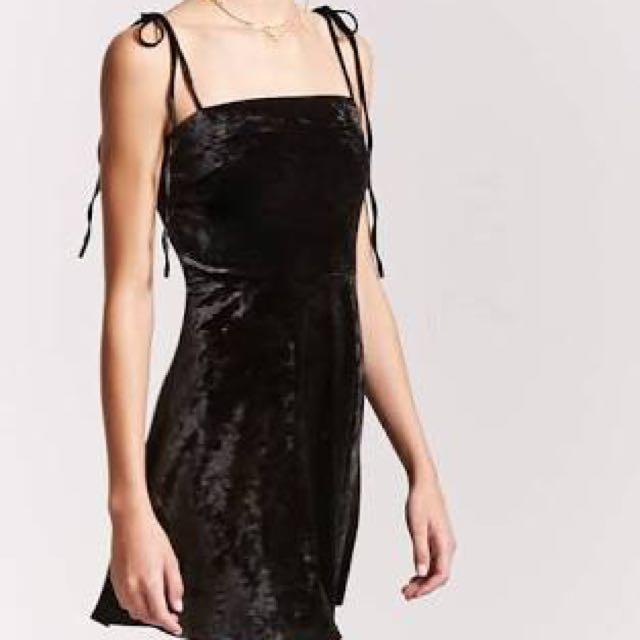 Forever21 Velvet Dress