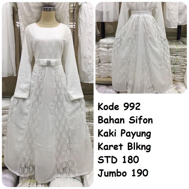 Gamis putih #992