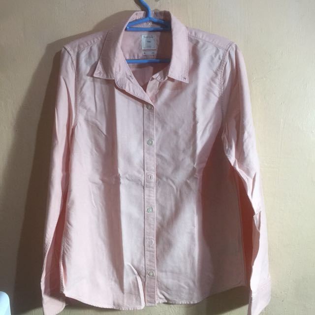 Gap Peach Buttondown Shirt
