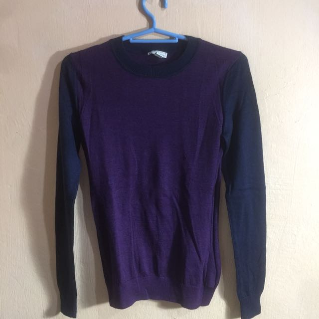 Gap Two-tone Crewneck Sweater