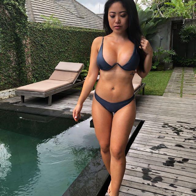 Grey Bikini Size m (can Fit 8)