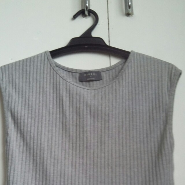 Grey Mirrou sleeveless top