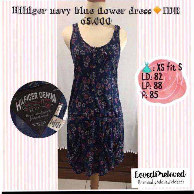 Hilfiger blue flower dress