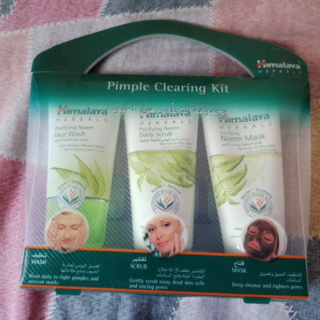 Himalaya Pimple Clearing Kit