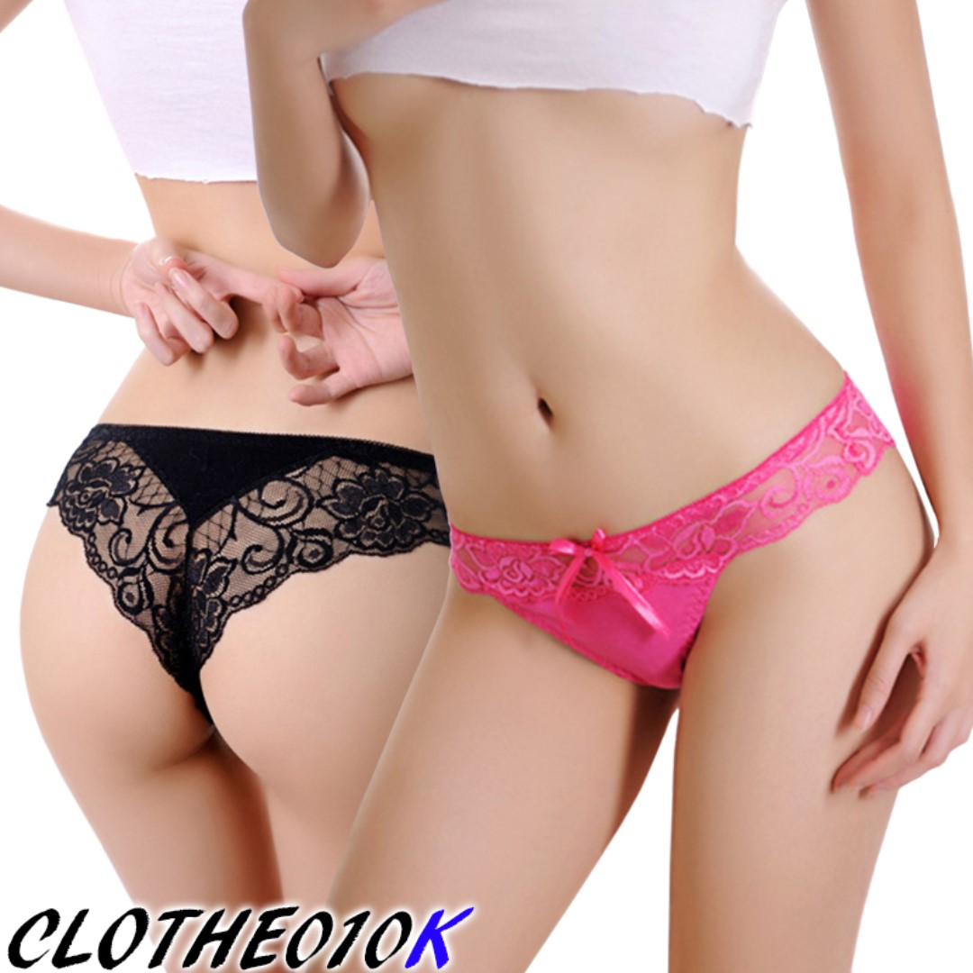 851744001aa Sexy lace tanga panties lingerie undergarment underwear briefs for girl  lady woman, Women's Fashion, Clothes, Others on Carousell