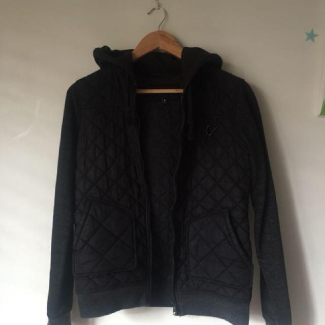 Hurley black jacket