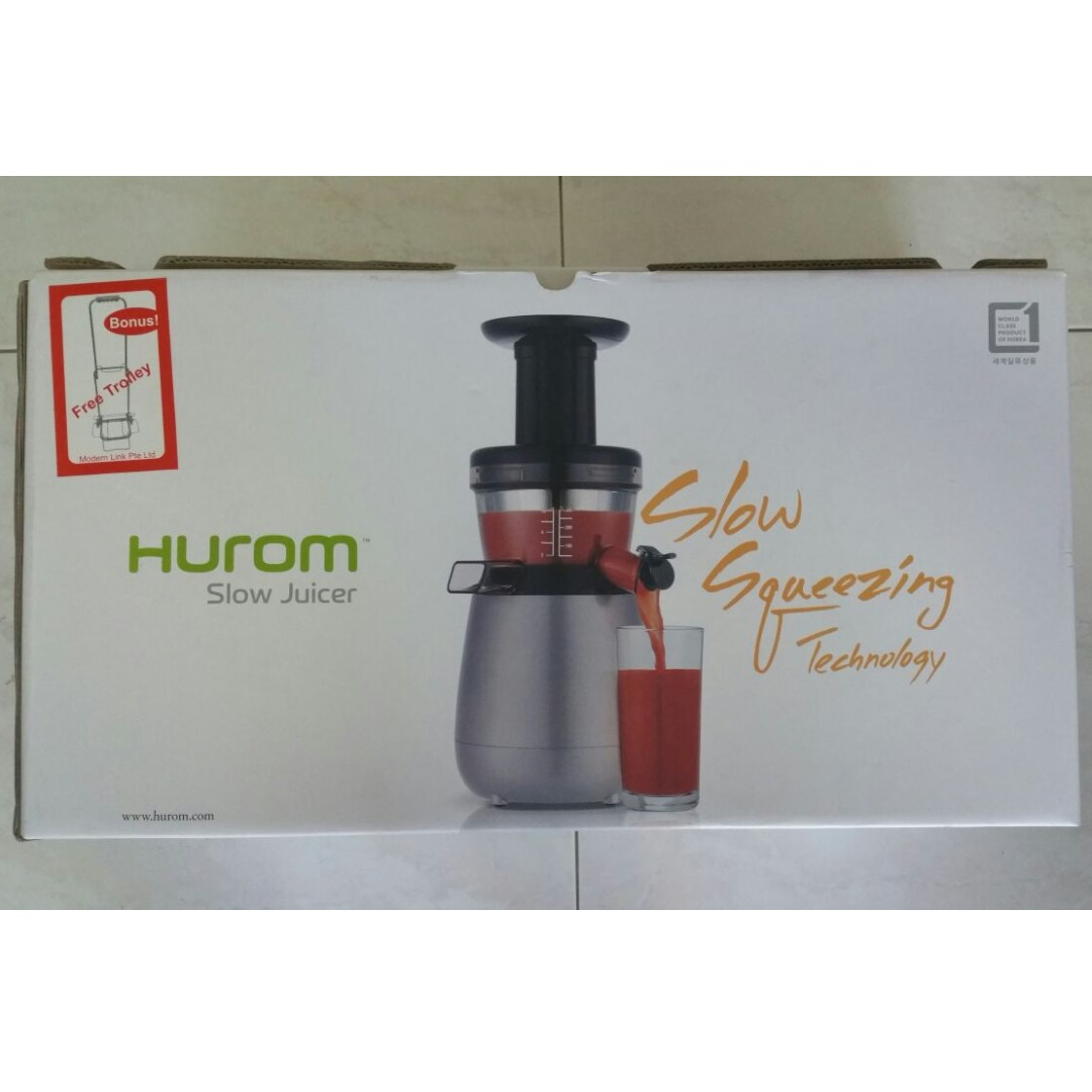 *last offer* Hurom Slow Juicer HP1500G (Made in Korea)
