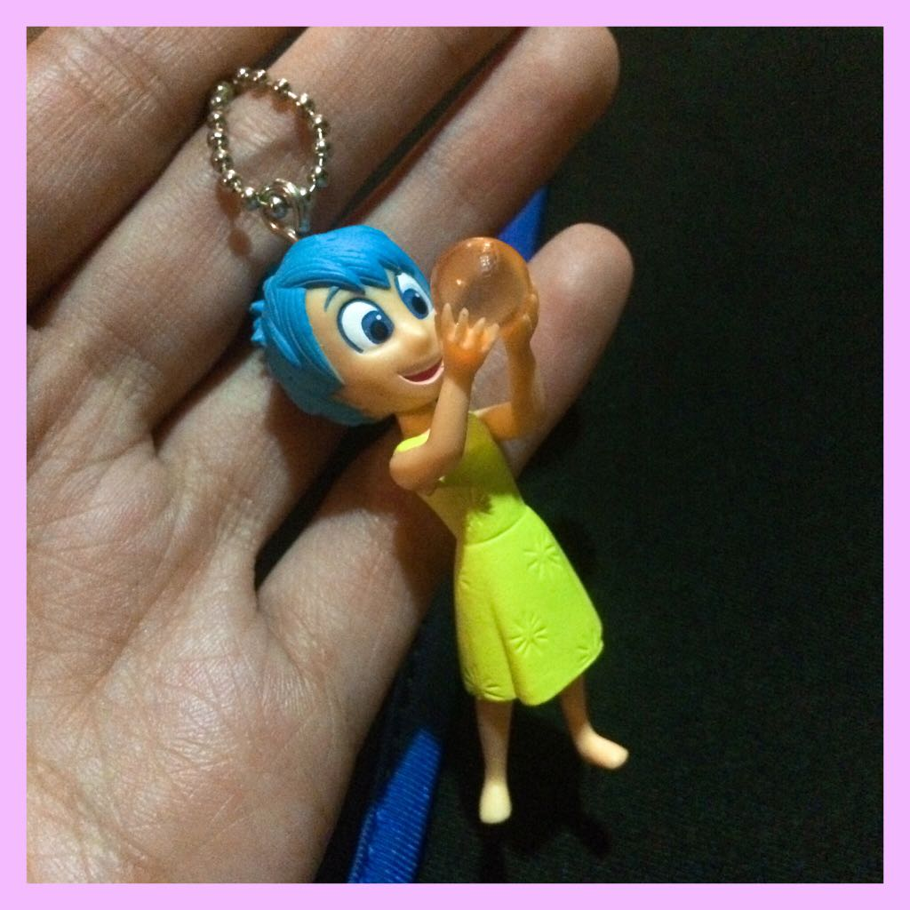 Inside Out's JOY Collectible Keychain