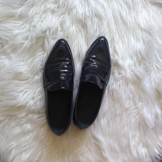 Jo mercer patent shoes