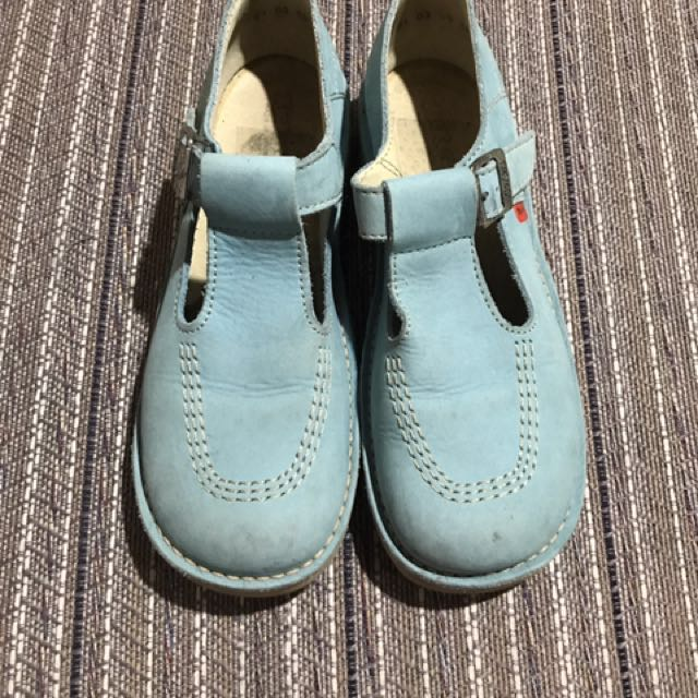 Kickers Powder Blue Shoes