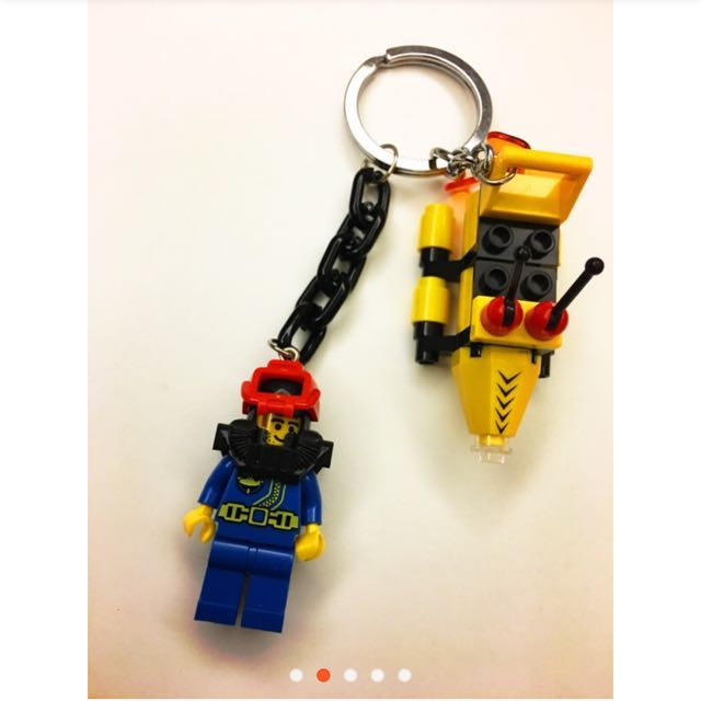 LEGO 樂高鑰匙圈