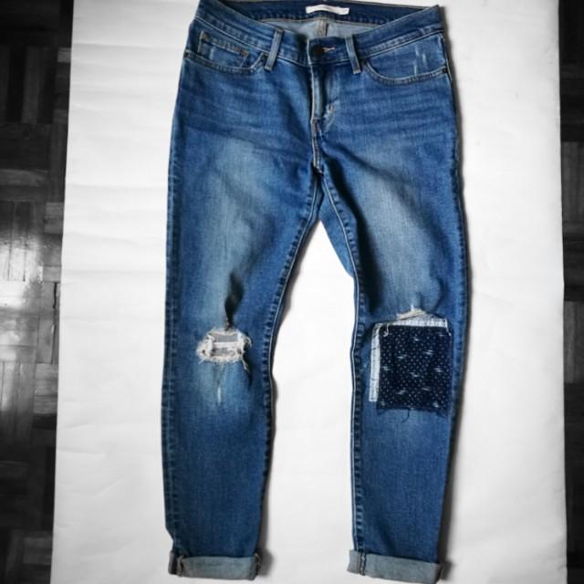 Levi's Skinny Jeans Denim