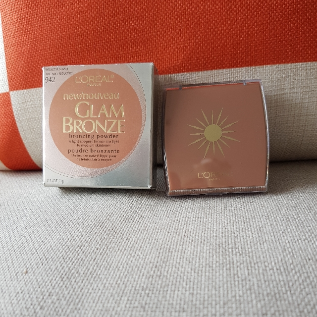 loreal glam bronzer  942 discontinued colour new