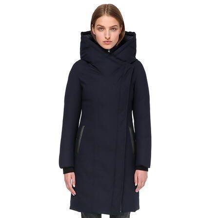 Mackage Mari Mid Length Winter Down Coat - Size Small