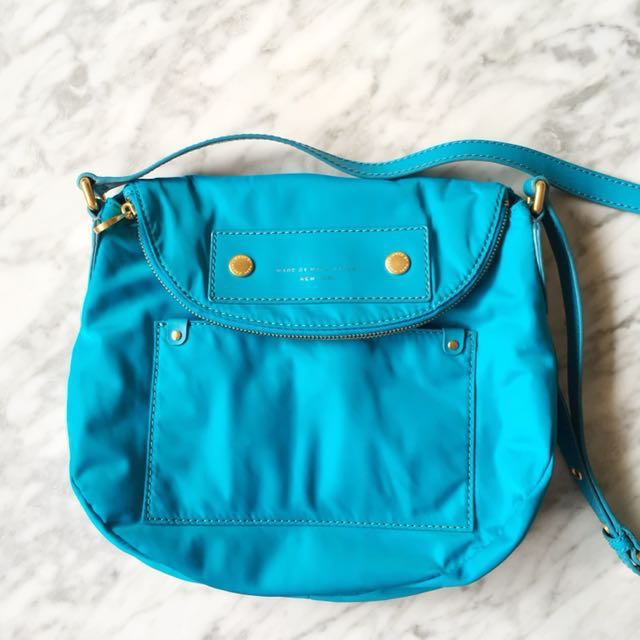 Marc by Marc Jacobs Preppy Natasha Crossbody in Turquoise