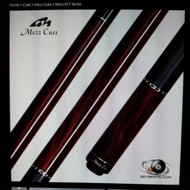 MEZZ EC7-C CUE, Sports, Sports & Games Equipment on Carousell