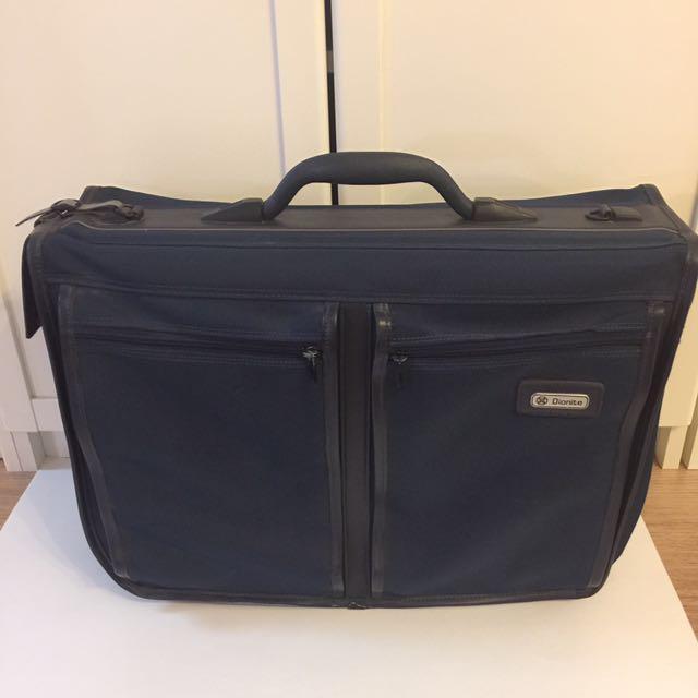 Navy Blue Garment Bag / Suitcase