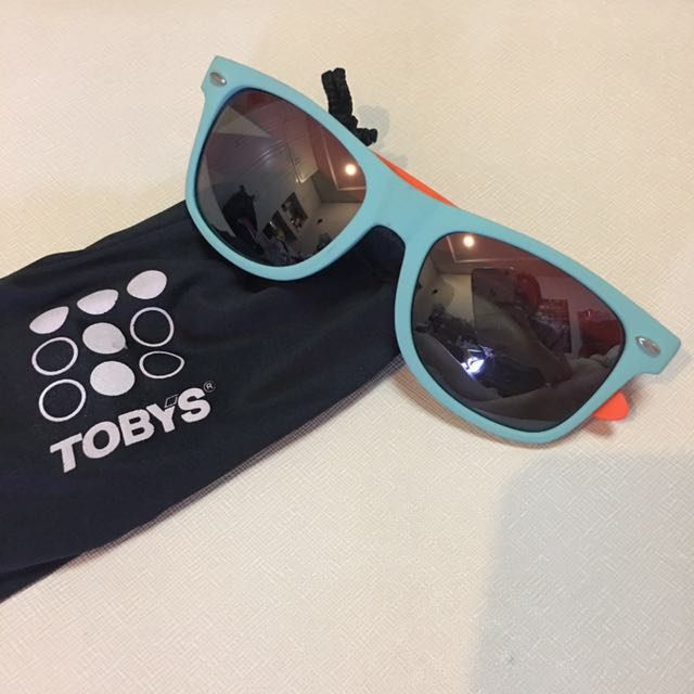 NEW! Toby's Blue and Orange Sunnies