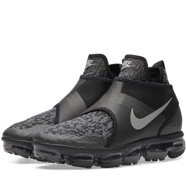 歐洲預代購~Nike Air VaporMax Chukka 雪花黑全氣墊