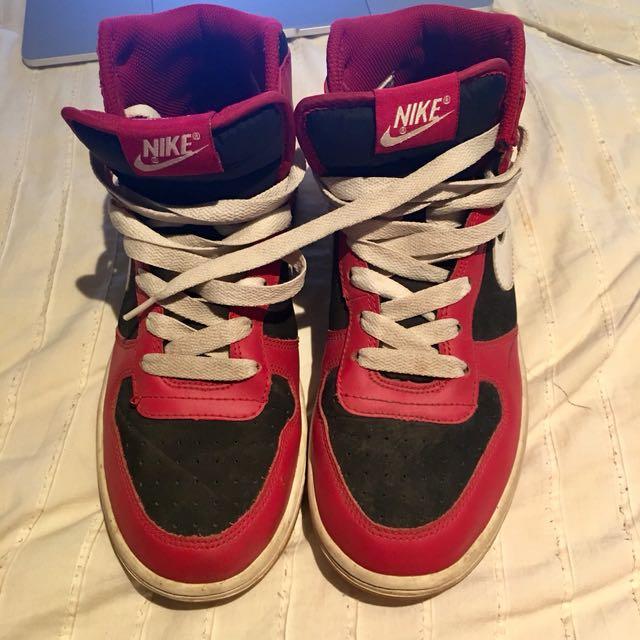 Nike Big Nike Varsity Red, White and Black