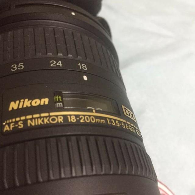 Nikon lens 18-200mm vr2
