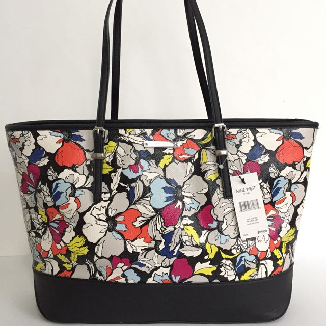 NINE WEST IT GIRL TOTE BAG AUTHENTIC $89