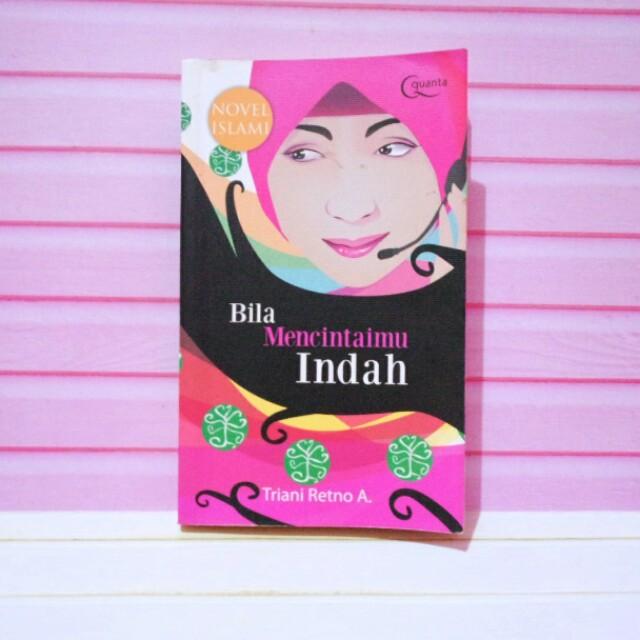 Novel islami bila mencintaimu indah
