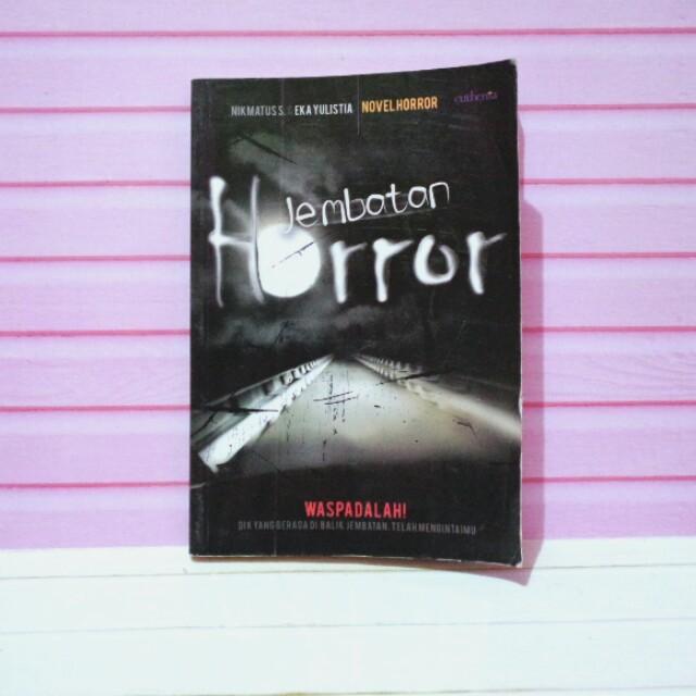 Novel Jembatan Horror