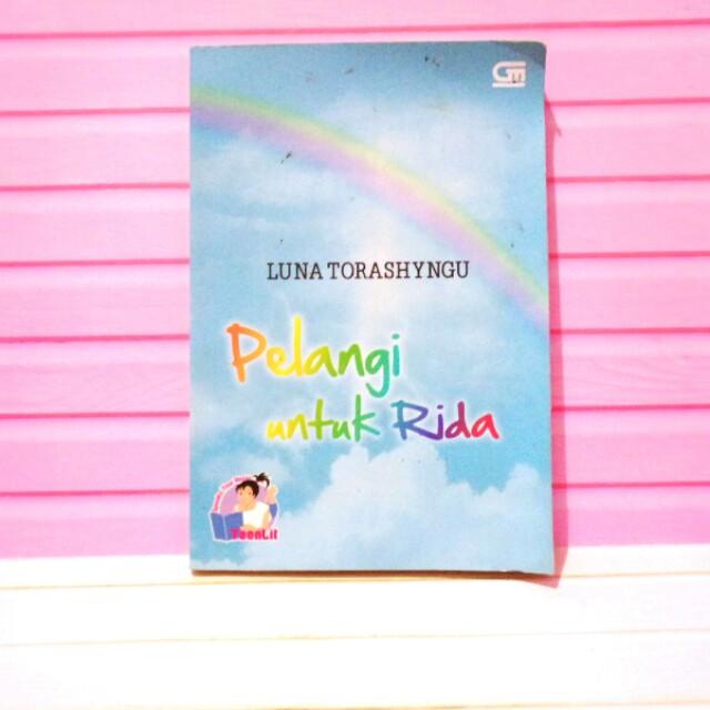 Novel Pelangi untuk Ridha
