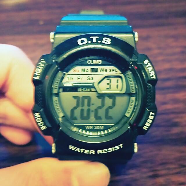 O.T.S 電子手錶 入伍必備